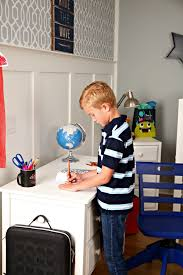 Making Space In A Small Kid S Room The Box Low Loft With Desk Maxtrix Kids