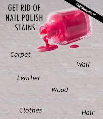 get rid of nail polish sns the