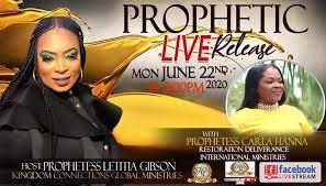 K.C.G Prophetic Live Release starts... - Kingdom Connections Global |  Facebook
