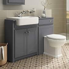 1100mm combined vanity unit toilet