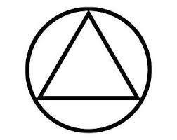 Triangle Vinyl Decal Etsy
