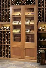 built in cigar humidor cabinets
