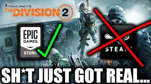 The Division 2 Skipping Steam For The Epic Games Store - YouTube