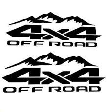 4x4 Off Road Decal Sticker Truck Ford F 150 Chevy Silverado Toyota Tacoma Tundra Ebay