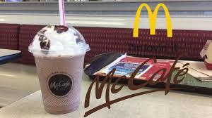 review mcds mccafe mocha frappé you