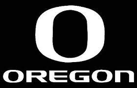 Oregon Ducks Logo Car Decal Vinyl Sticker White 3 Sizes Ebay