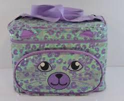cat face makeup bag carrying case