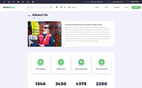 multi responsive ecommerce html