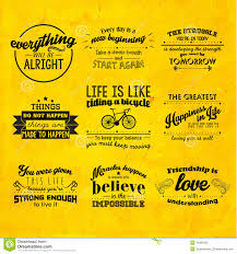 inspirational and encouraging quote vector design stock vector