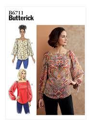 Butterick 6711 Misses' Top