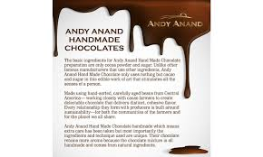 off on andy anand belgian white choc