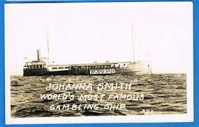 RPPC LONG BEACH, CA JOHANNA SMITH GAMBLING SHIP | #140158660