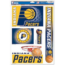 Indiana Pacers Car Decals Pacers Bumper Stickers Decals Fanatics