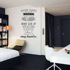 Removable Work Hard Dream Big Quote Wall Sticker For Home Decor Buy At A Low Prices On Joom E Commerce Platform