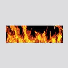 Pink Skull Burning Deaths Head Fire Wall Art Cafepress