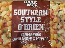 southern style o brien hash browns with