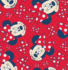 red minnie mouse wallpapers top free