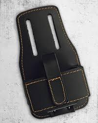 hook and loop tape measure holder