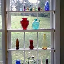 glass shelves kitchen window shelves