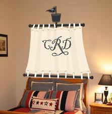 Custom Pirate Sail Bedroom Wall Mural