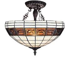 bowl shade inverted ceiling pendant