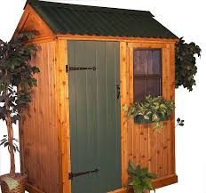 build a small outdoor storage shed