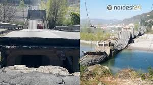 Aulla, crolla il ponte di Albiano Magra. Coinvolto un furgone ...