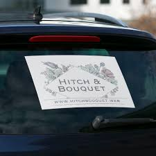 Car Window Decals Create Custom Car Window Stickers Vistaprint