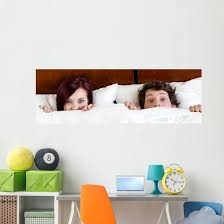 Young Marriage Bed Wall Decal Panoramic Wall Decal Wallmonkeys Com