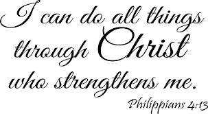 Buy I Can Do All Things Through Christ Who Strengthens Me Philippians 4 13 Wall Decal Bible Scripture Christian Wall Art Quote Lettering Mural In Cheap Price On Alibaba Com
