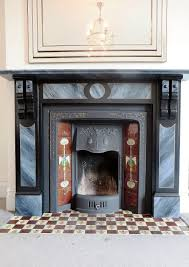 faux marble fire surround in milton