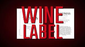 personalized custom wine bottle labels