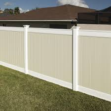 Emblem 6x8 Vinyl Privacy Fence Kit Vinyl Fence Freedom Outdoor Living For Lowes