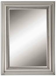 wall mirror john richard antique silver