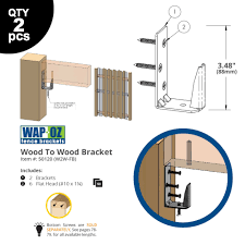 Wood To Wood Ez Hide Bracket Ozco Building Products