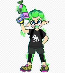 Splatoon 2 Drawing Fan Art Green Others Nintendo Boy Fictional Character Splatoon Plant Png Nextpng