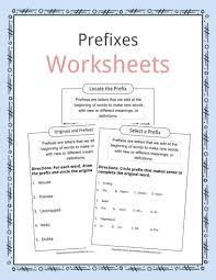 prefi worksheets exles