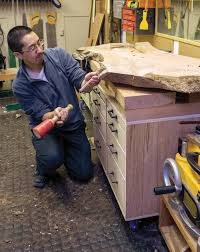 Learn To Work With Live Edge Wood Canadian Woodworking Magazine
