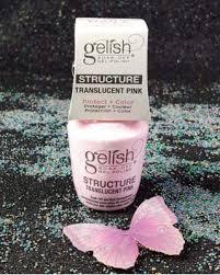 gelish soak off nail strengthener