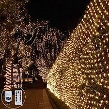 Net Fairy String Light 3m X 2m 200led Mesh Light Christmas Outdoor Fairy Light Plug In Twinkle 8mode Connectable For Tree Garden Backyard Fence Balcony Xmas Decor Warm White Amazon Co Uk Lighting