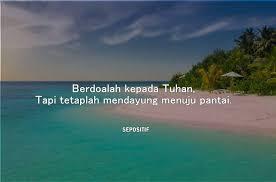 kata kata ombak dan pasir pantai yang singkat dan penuh makna