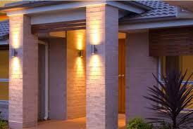 Outdoor Up Down Wall Light Photo 7 Modern Exterior House Designs Exterior Wall Light Modern Exterior