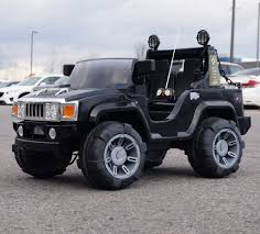 Hummer H2 A26 Ride On Car with Electric ...