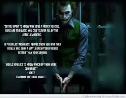 why do people love the joker from the dark knight quora
