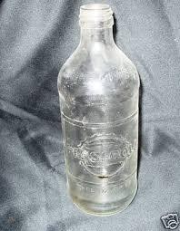 old vintage 16 oz glass pepsi bottle