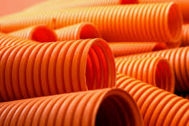 corrugated drain pipes over pvc