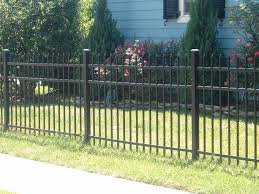 Aluminum Fencing Bowling Green Ky Wrought Iron Black Metal Fence Aluminum Fence Aluminum Fencing