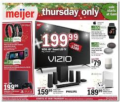 meijer black friday ad 2017 is live