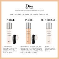 dior airflash makeup tutorial