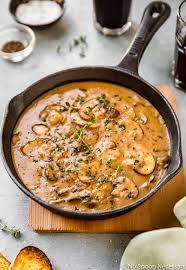 easy mushroom marsala cream sauce no